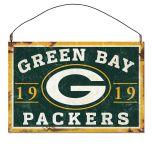Packers Established Date Metal Sign