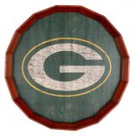 """Packers Cracked Color 24"""" Barrel Top"""