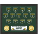 Packers 13-Time Banners Bronze Coin Photomint
