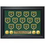 Packers 13-Time Banners Deluxe Gold Coin Photomint