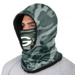 Packers Camo Hooded Gaiter Face Scarf