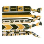 Green Bay Packers Knotted Hair Tie Set
