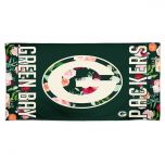 Packers Floral Spectra Beach Towel
