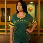 Packers 50s Classic Women's Sleeve Stripe T-Shirt
