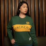 Packers 50s Classic Women's Color-Blocked Crew