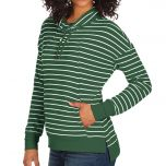 Packers Women's Rhythm Cowl Neck Pullover