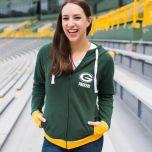 Packers Women's Onside Kick Full Zip Hoodie