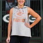 Packers Women's Frontline Hooded Tank Top