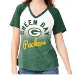 Packers Women's Shortstop Ombre T-Shirt