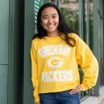 Packers Womens 47 Cover Star Cropped Crew