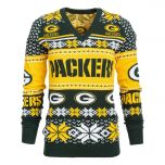 Packers Women's Ugly V-Neck Sweater
