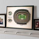 Lambeau Field 5-Layer StadiumView 3D Wall Art