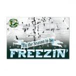 Lambeau Field Freezin' Wood Sign