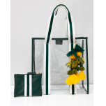 Packers Jackson Clear Tote Bag