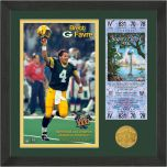Packers Favre SB XXXI Champ Bronze Coin Photomint