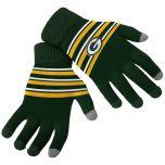 Packers Women's Acrylic Stripe Knit Gloves