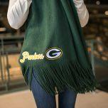 Packers Women's Oversized Fringe Wrap