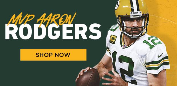 Aaron Rodgers MVP, shop gear now