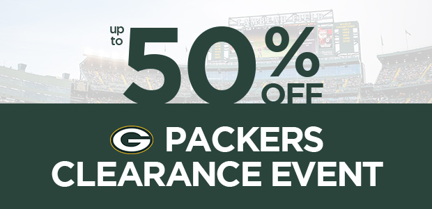 Packers Clearance Event, up to 50% off shop now