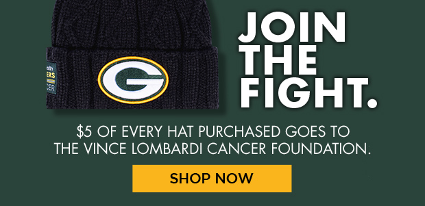 Join the Fight. $5 of every heat purchased goes to the Vince Lombardi Foundation