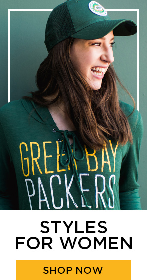 Packers Green and Gold womens, shop now