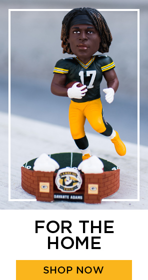 #!7 Davante Adams bobblehead, for the Home. Link to Packers Home Category Page.