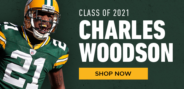 Charles Woodson HOF Class of 2021, shop now