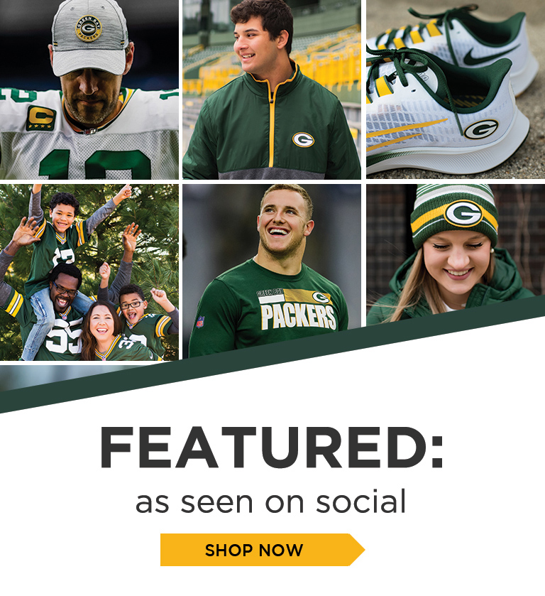 Get closer to the game, follow us on social media. Shop as seen on social section.