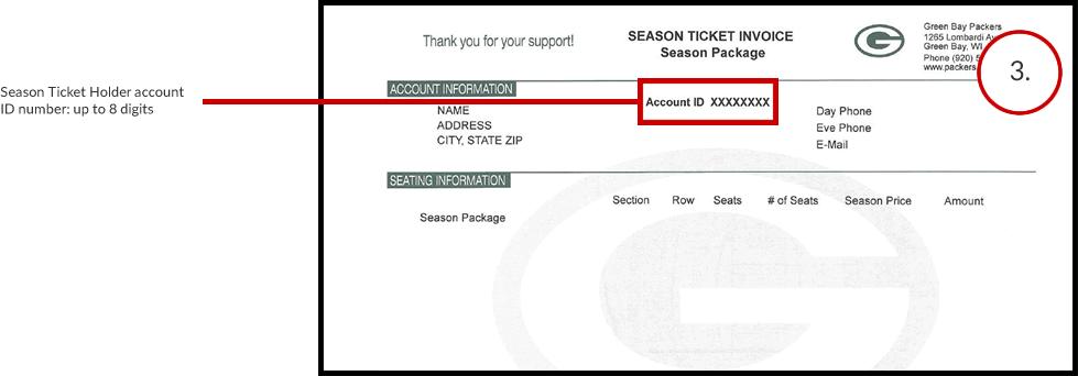 Season Ticket Holders - third - Location of Season Ticket Holder Account ID